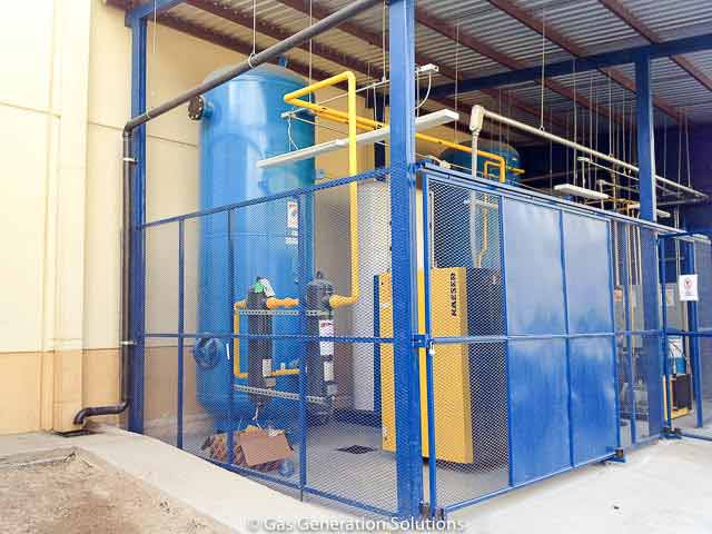 Nitrogen Generator For Laser Cutting