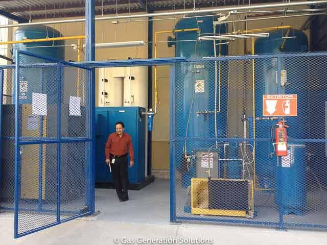 Nitrogen Gas Generator for Laser Cutting