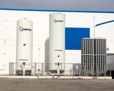 Liquid Nitrogen Bulk Tank nitrogen generator